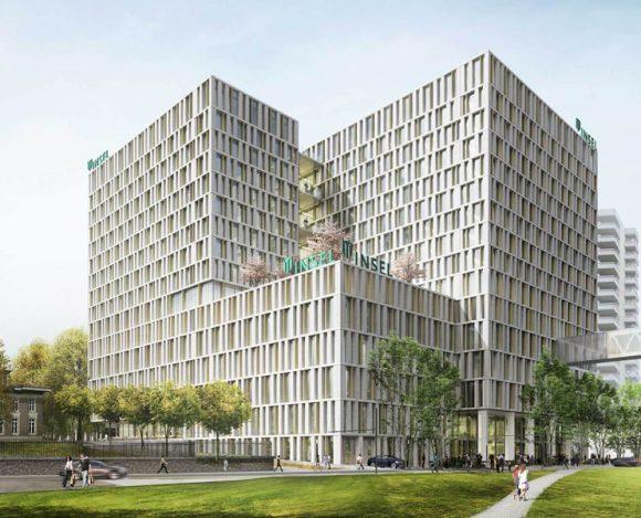 ASTOC: Inselspital Bern Neubau BB12